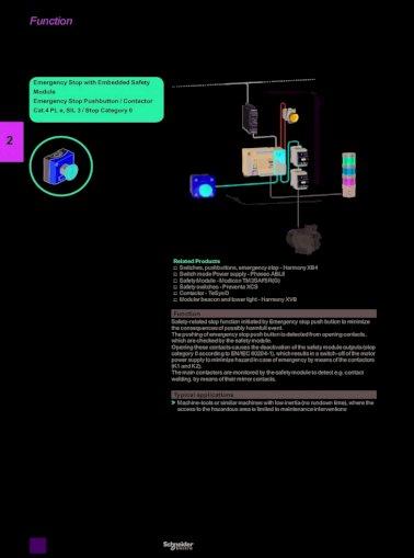 Details about  /Telemecanique Emergency stop