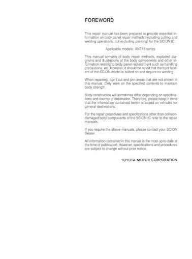 Manual tc service 2007 pdf scion Scion Tc