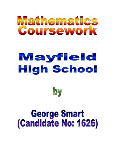 Gcse maths coursework mayfield creative thinking essay writing