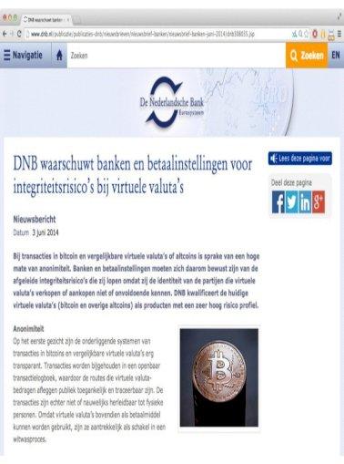 Bitcoin Kivi Rotterdam Ngi Den Haag 2014 Pdf Document