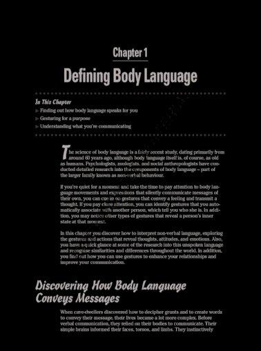 Types of body language pdf