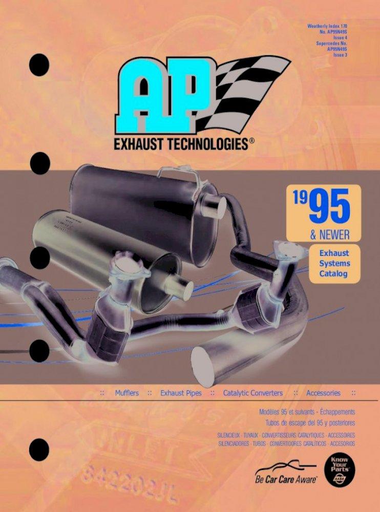 Exhaust Muffler-4WD AP Exhaust 700260
