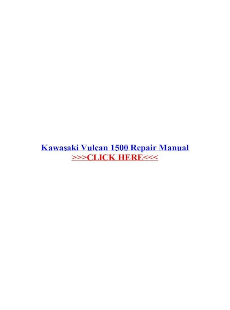 Kawasaki Vulcan 1500 Series 96-08