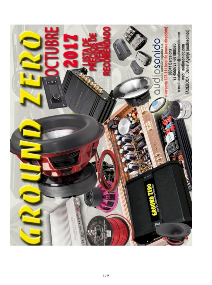 Ground Zero 15 inch 38cm Wave Design Metal Subwoofer Sub Box Speaker Grill