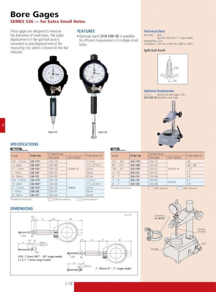 Mitutoyo 177-520 .24 CERA SETTING RING