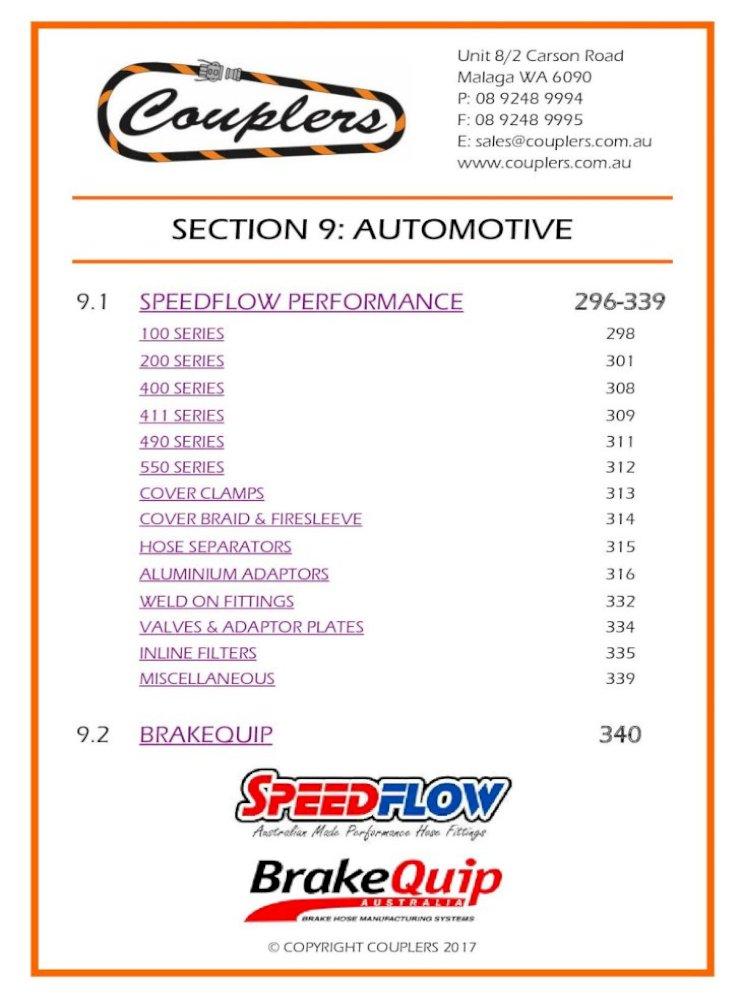 Speedflow GM EFI Female Adaptor 715-08-06