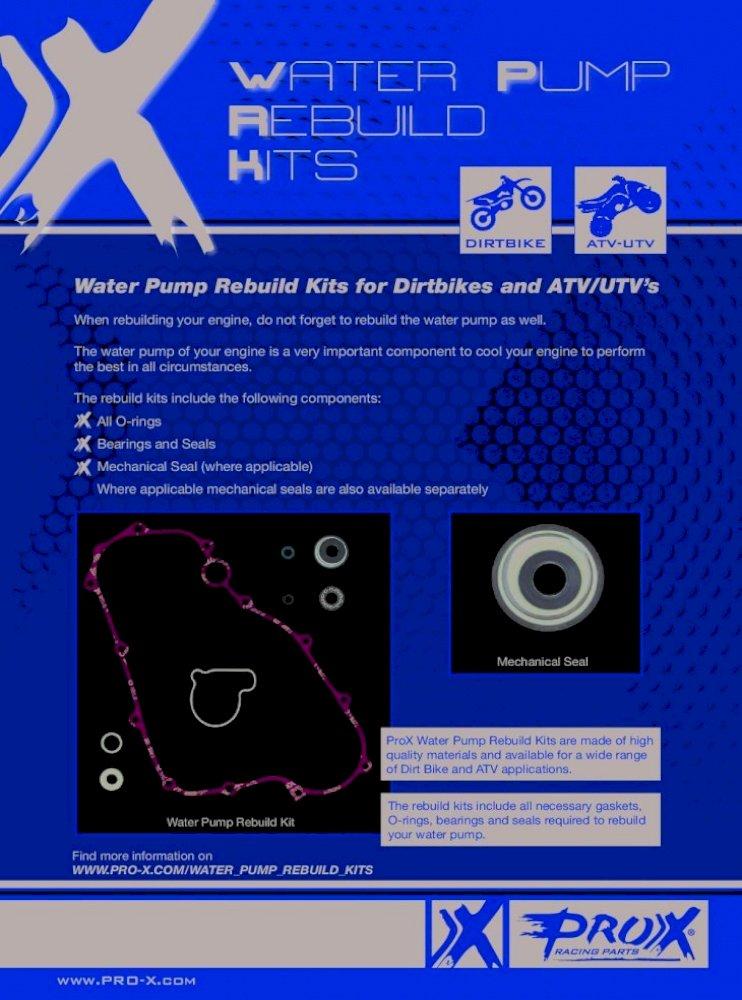 Polaris Sportsman 400 HO 4x4 Water Pump Rebuild Kit 2008-2014