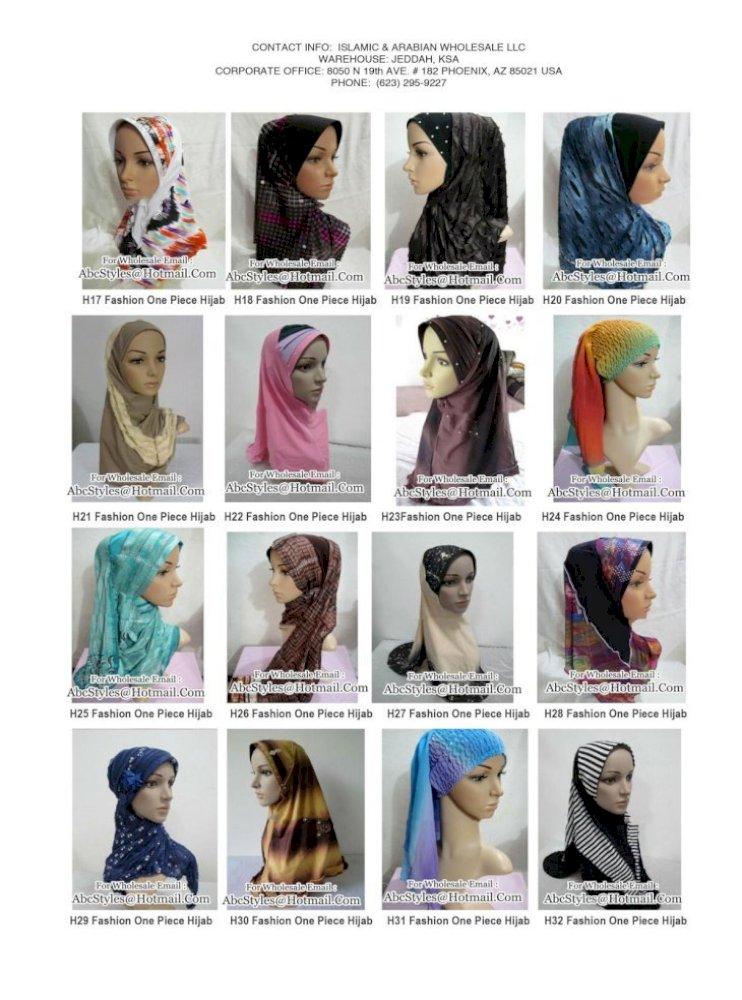 Fashion One Piece Hijab Pdf Document