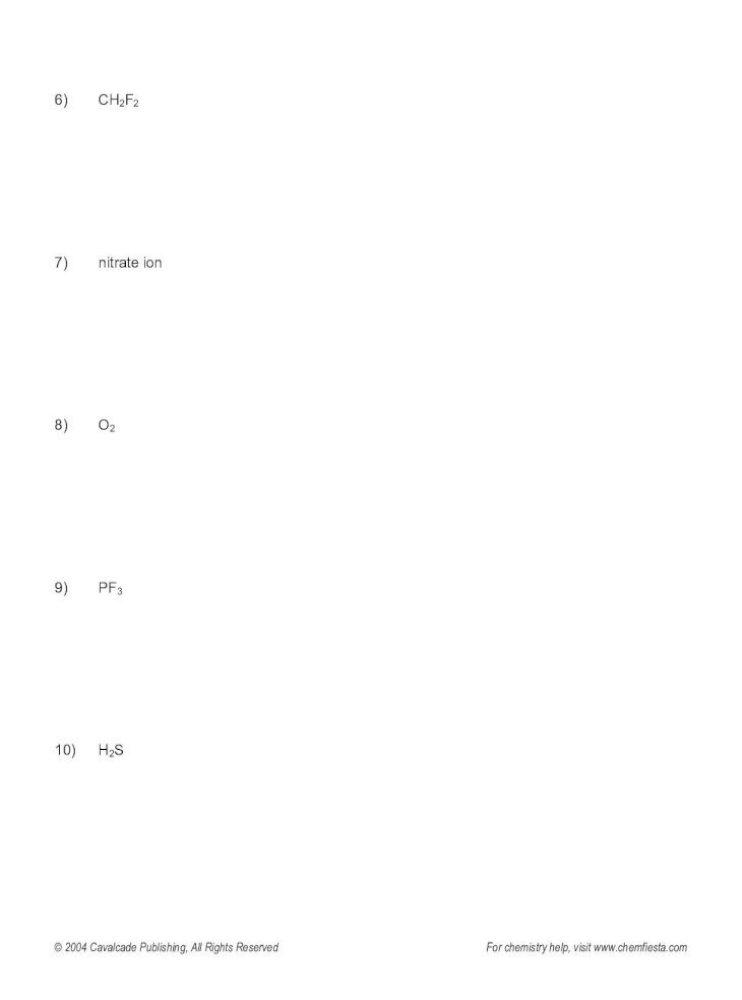 Lewis Structures Vsepr Polarity Im Lewis Structures Vsepr Polarity Im Forces Answers For Pdf Document