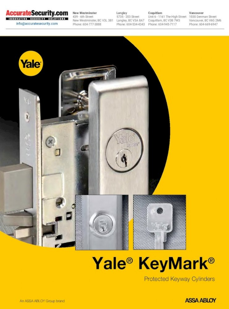 Medeco Assa Keymark 7-Pin Uncombinated SFIC Cores Satin Brass Finish 4 Lot of